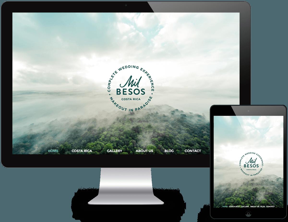 Portfolio Wedding Planner Web Design