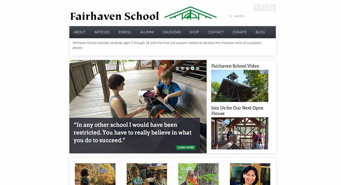 Fairhaven School Before