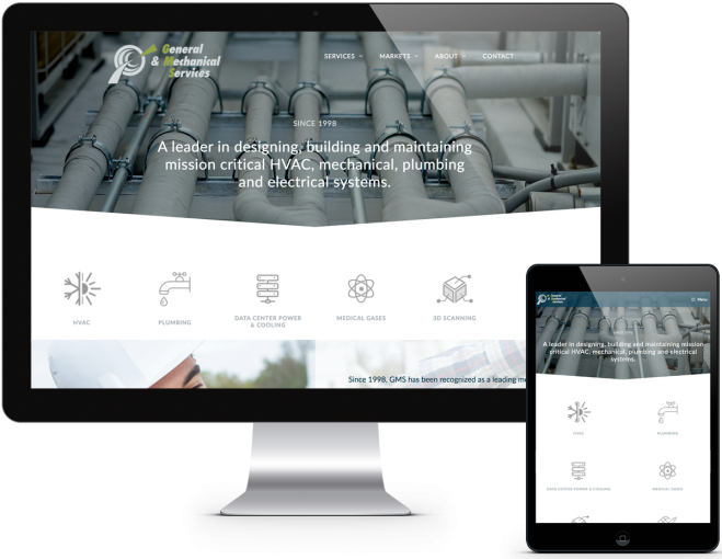 Portfolio HVAC Web Design