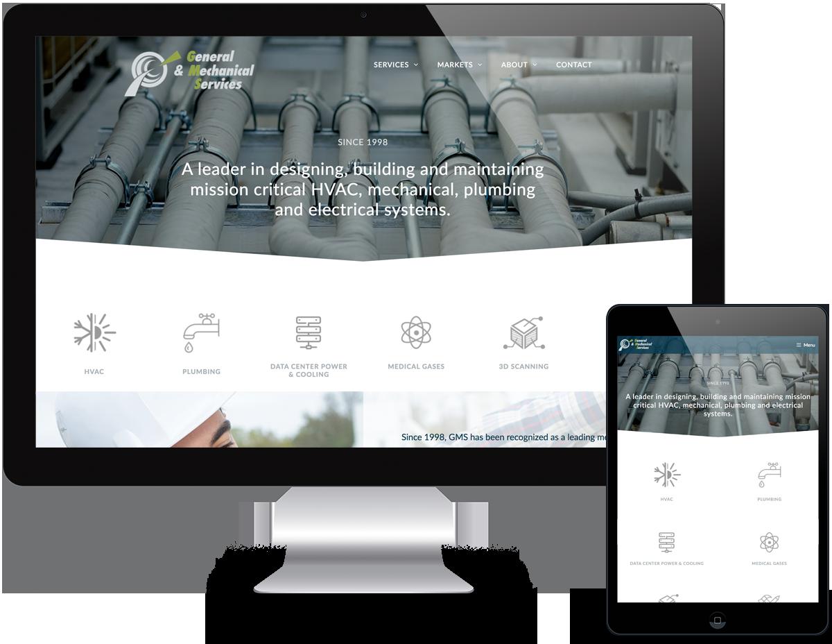 Portfolio HVAC Web Design