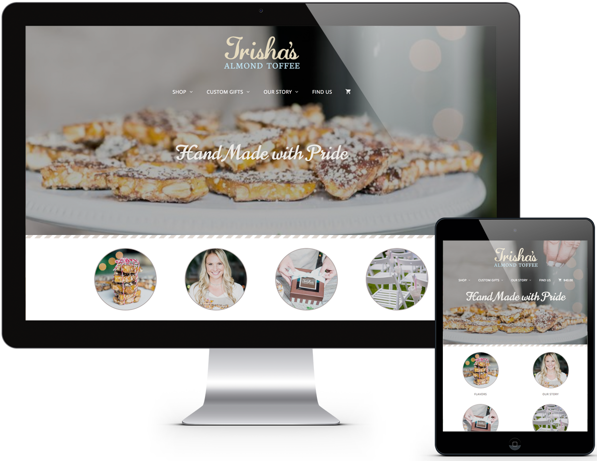 Portfolio Bakery Web Design