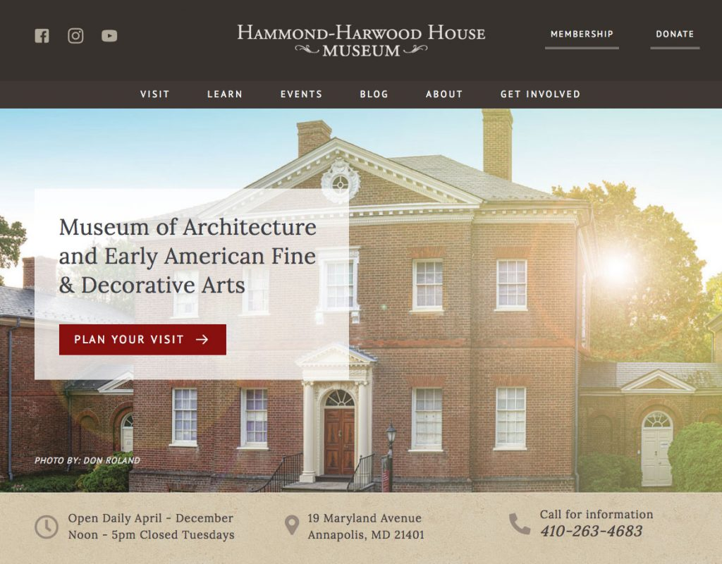 Hammond Harwood House After