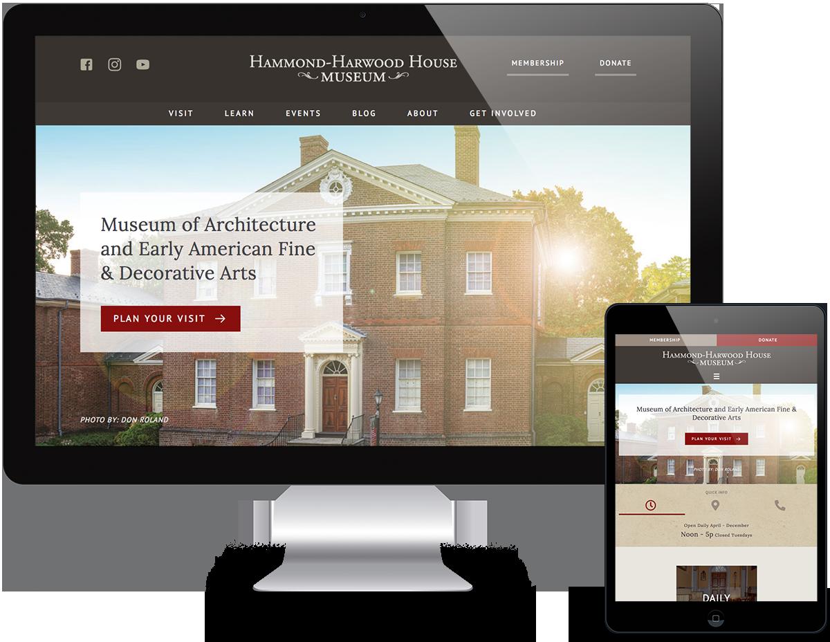 Portfolio Museum Web Design