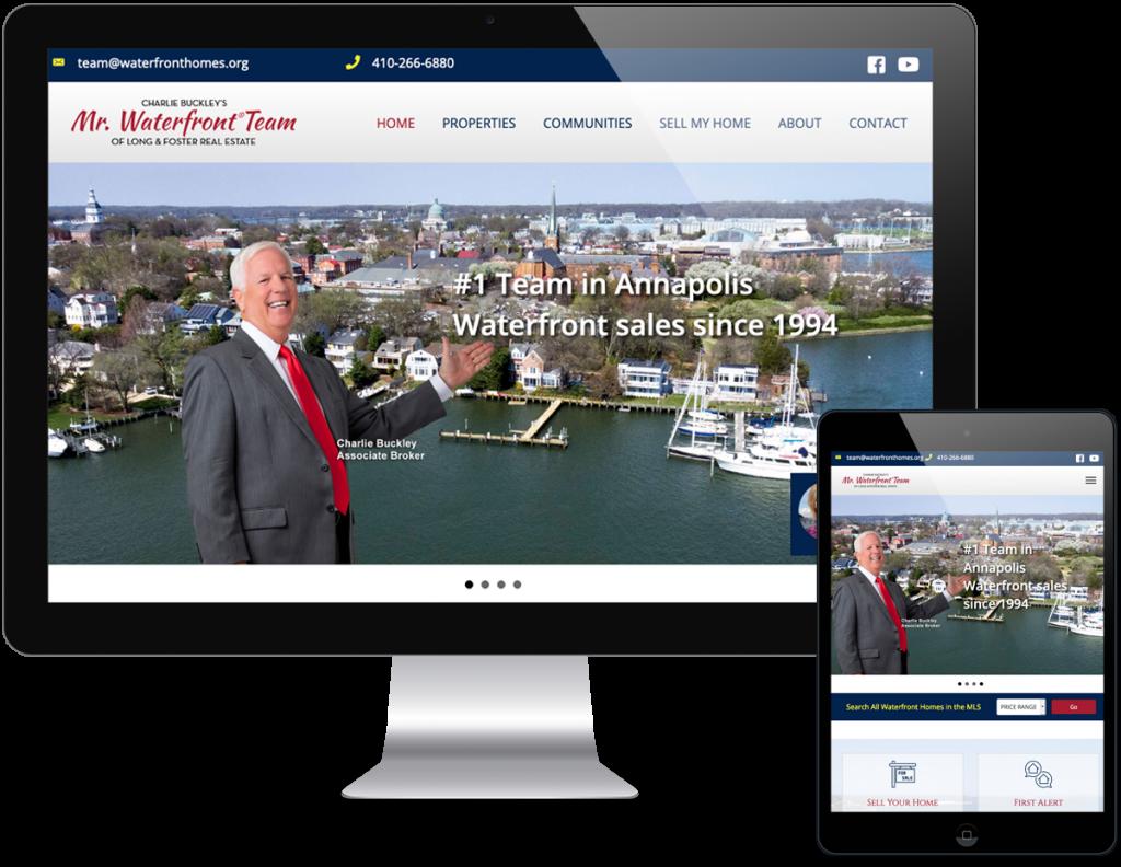 Mr. Waterfront Team Website