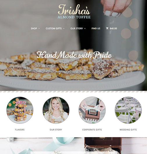 E-Commerce and Web Design for Handmade Treats