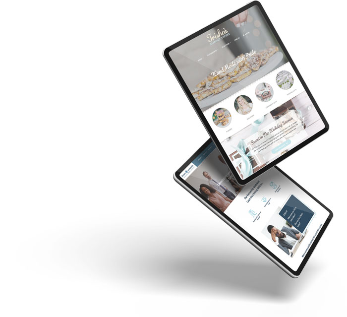 Web design on iPads