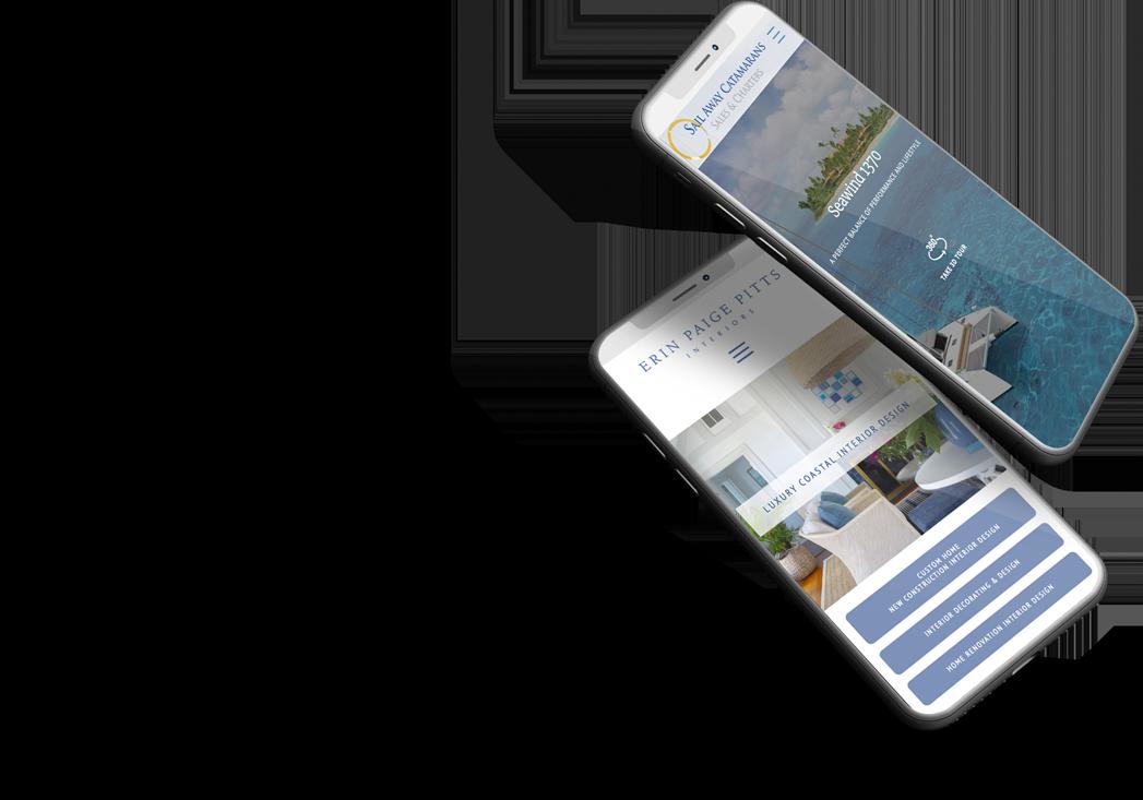 websites on 2 mobile phones